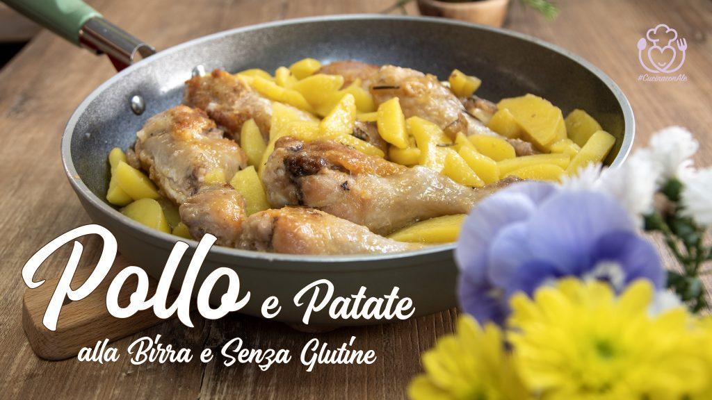Cosce di Pollo e Patate in Padella Alla Birra Senza Glutine