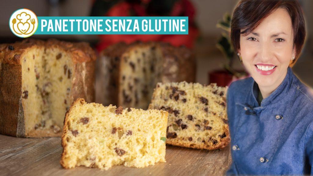 PANETTONE Senza Glutine Ricetta Facile con Uvetta e Canditi o Gocce di Cioccolato