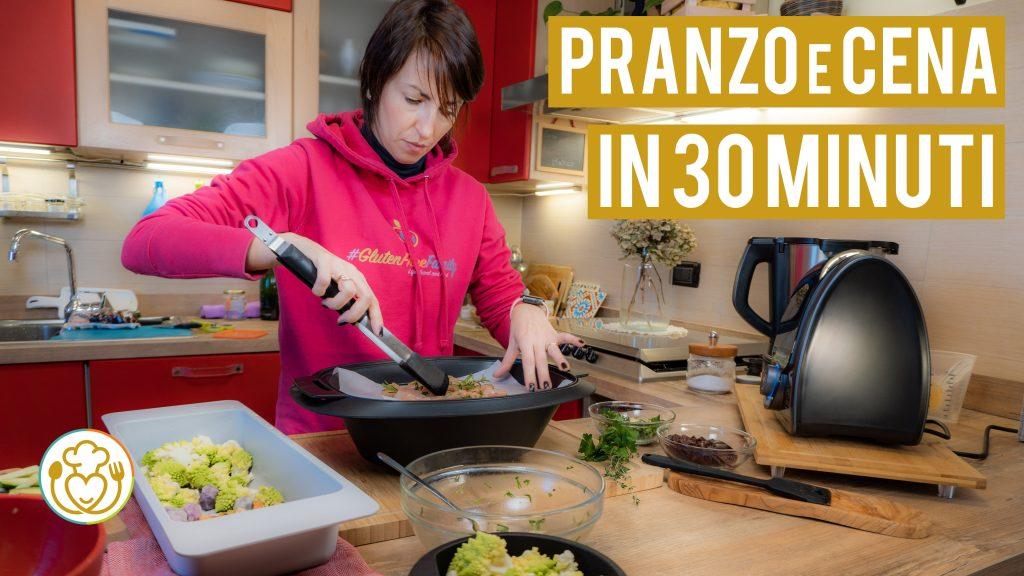 Pranzo Completo con una Sola Cottura di 30 Minuti Senza Grassi con il Mambo 8090
