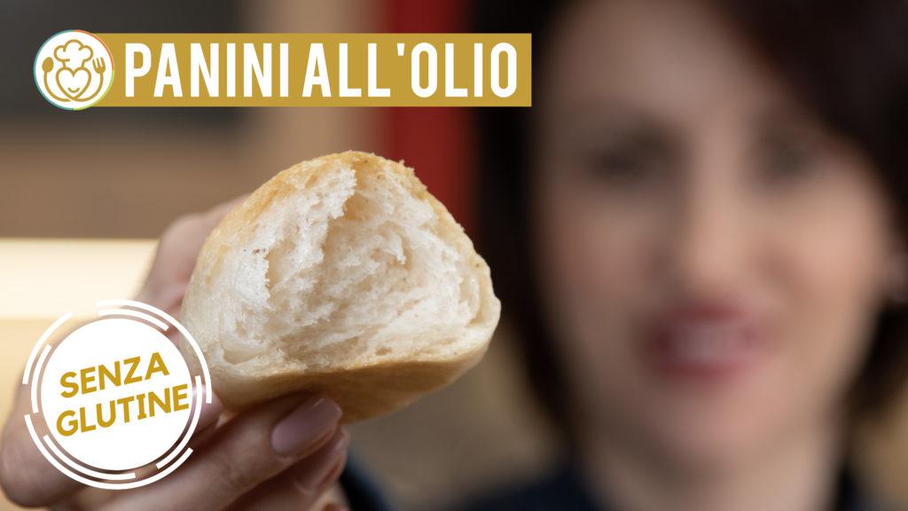 Panini all'Olio Senza Glutine Crosta Croccante, Mollica Soffice
