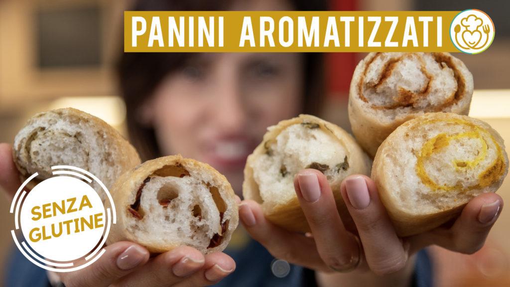Panini All'Olio Aromatizzati Senza Glutine Con Spezie, Capperi e Pomodori Secchi