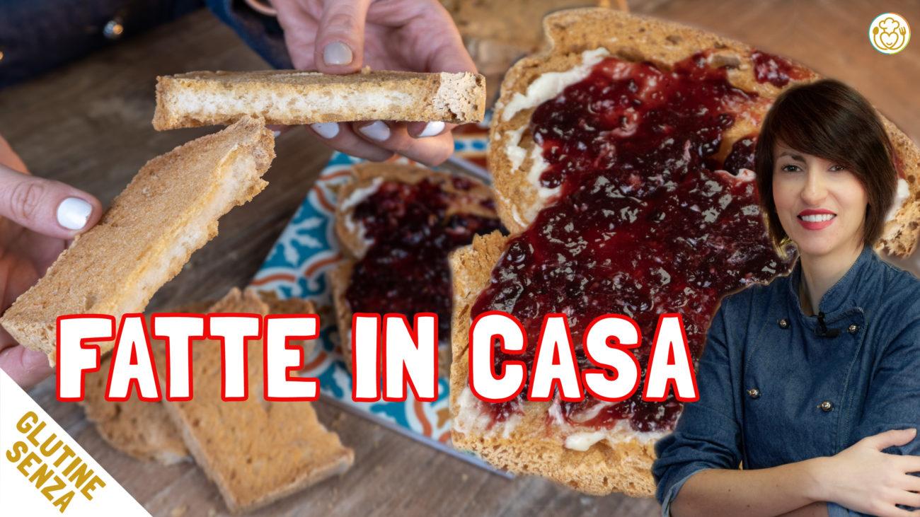 Le FETTE BISCOTTATE. Speciale FATTO IN CASA Senza Glutine Burro e Lattosio | VivoGlutenFree