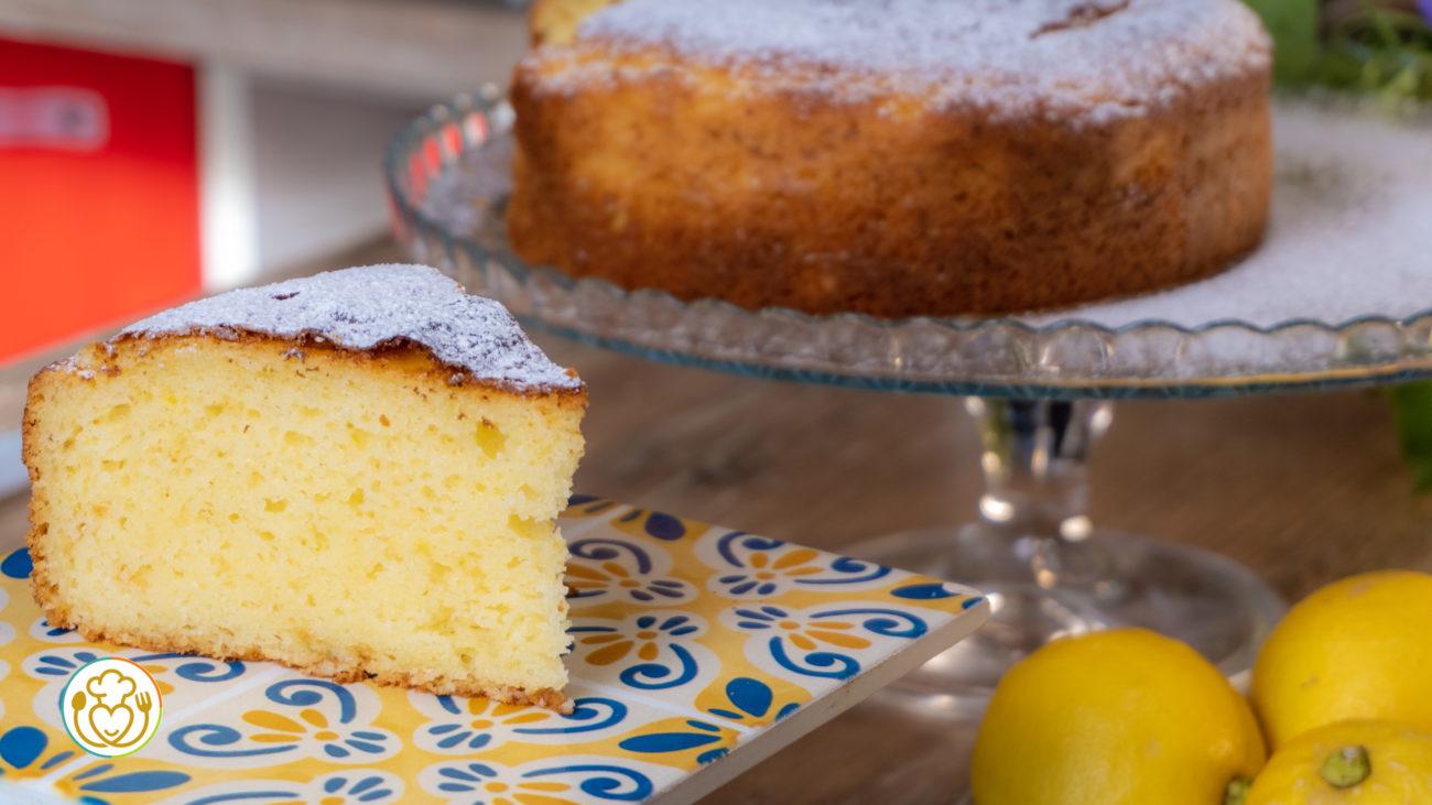 Torta alla Ricotta e Limone Senza Glutine Morbida e Fresca