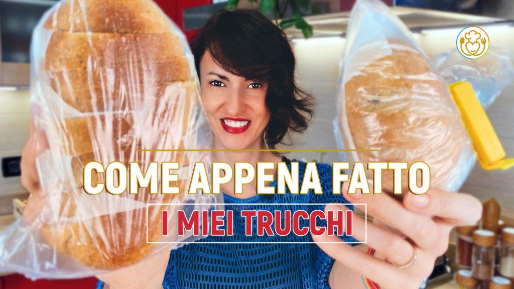 4 ERRORI da non Fare Se CONGELI il Pane + il trucco per Averlo CROCCANTE… Si, anche Senza Glutine