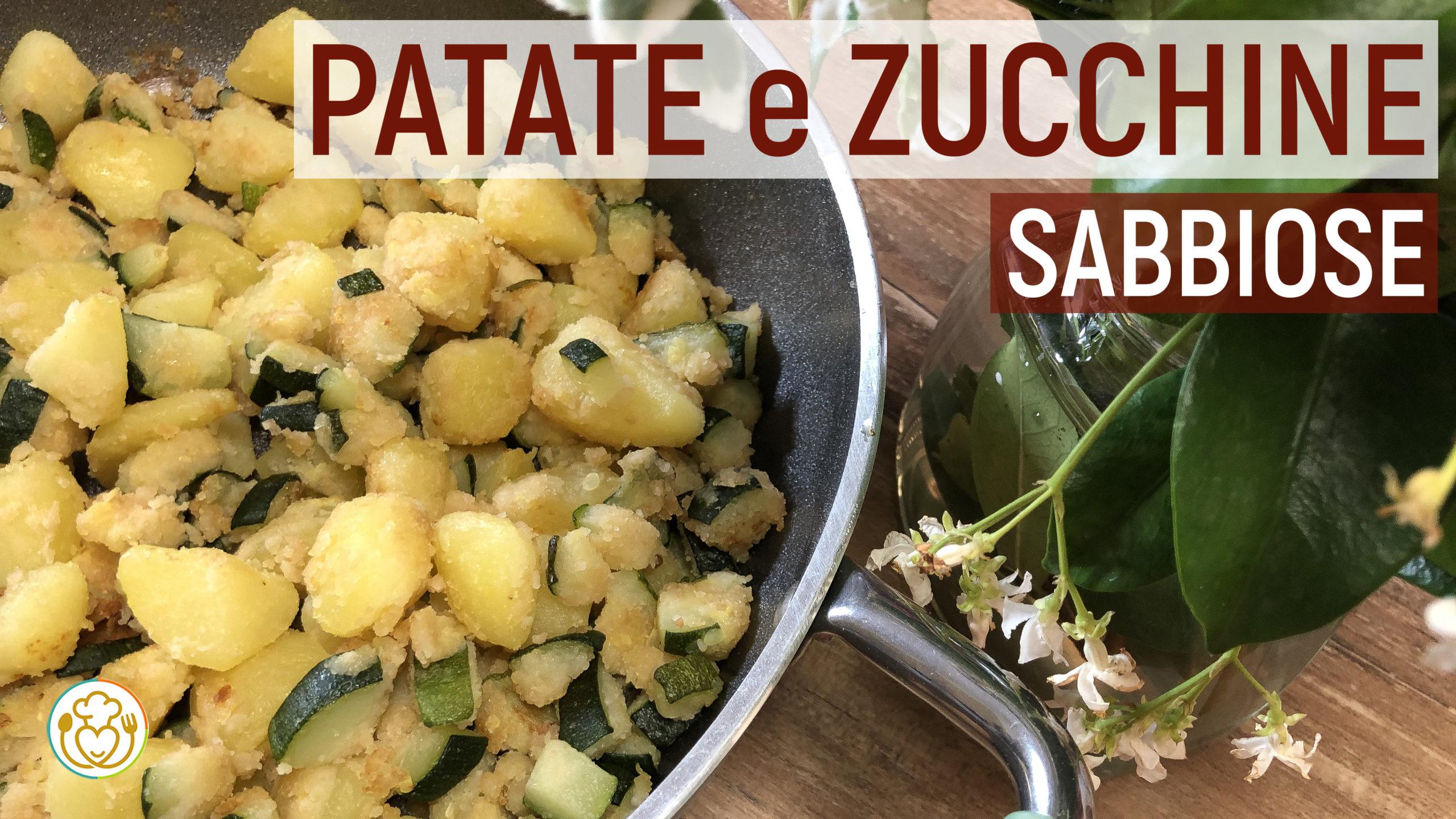 Ricetta Patate E Zucchine In Padella.Zucchine E Patate Croccanti In Padella Contorno Saziante Da Frigo Vuoto Ricette Di Cucina