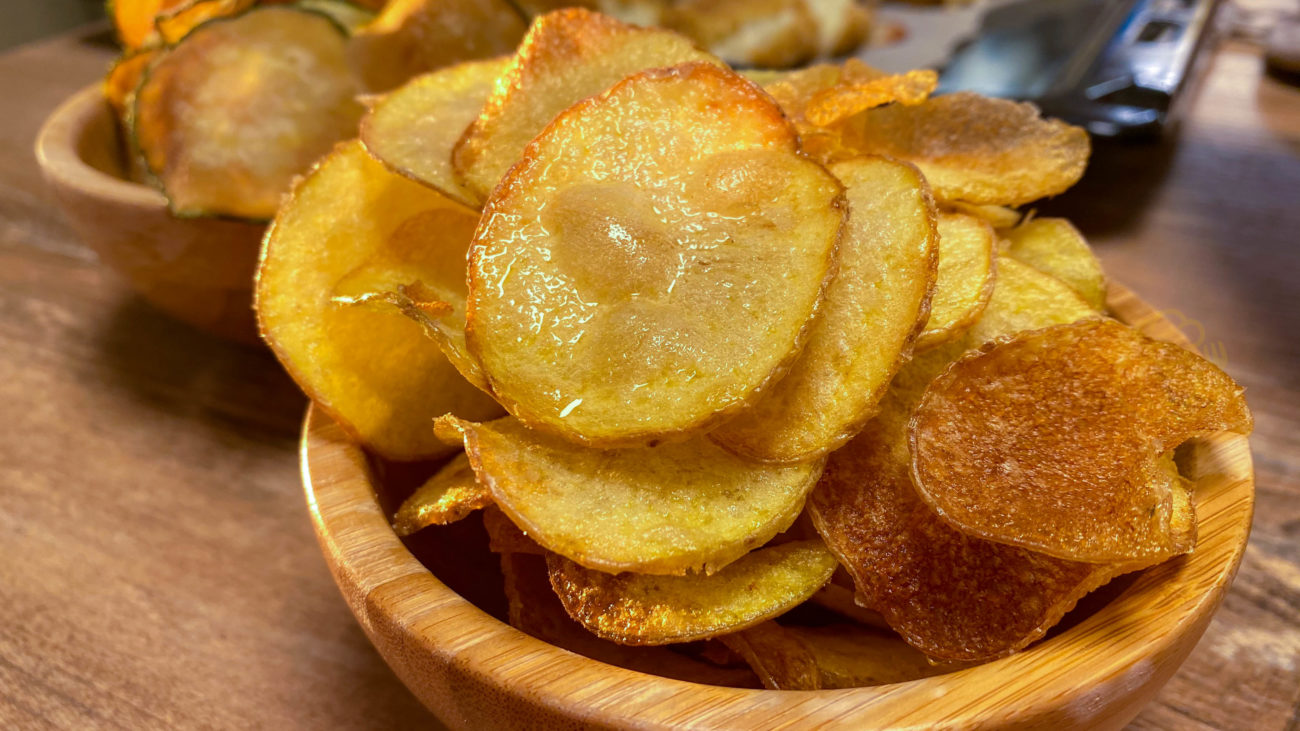 Patatine Fritte Sottili Fatte in Casa Croccanti e Leggere