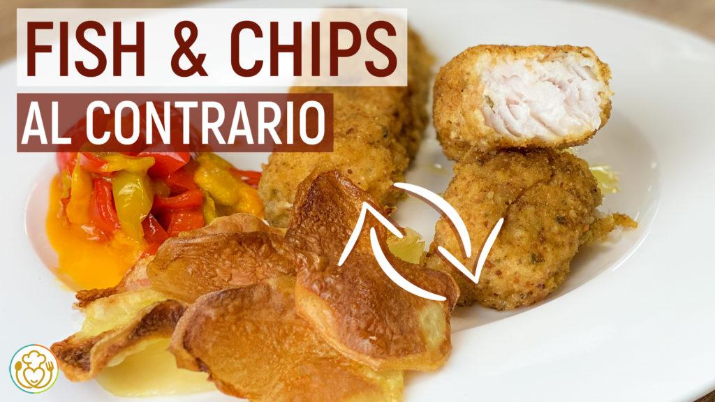 Fish and Chips Croccante e Rustico, con Pastella Semplice Anche Speziata