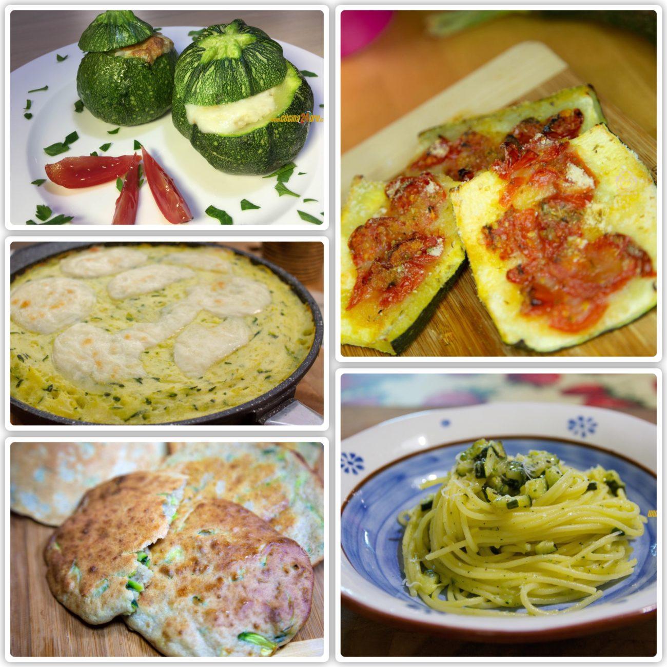 La mia TOP 5 delle Ricette con Zucchine!