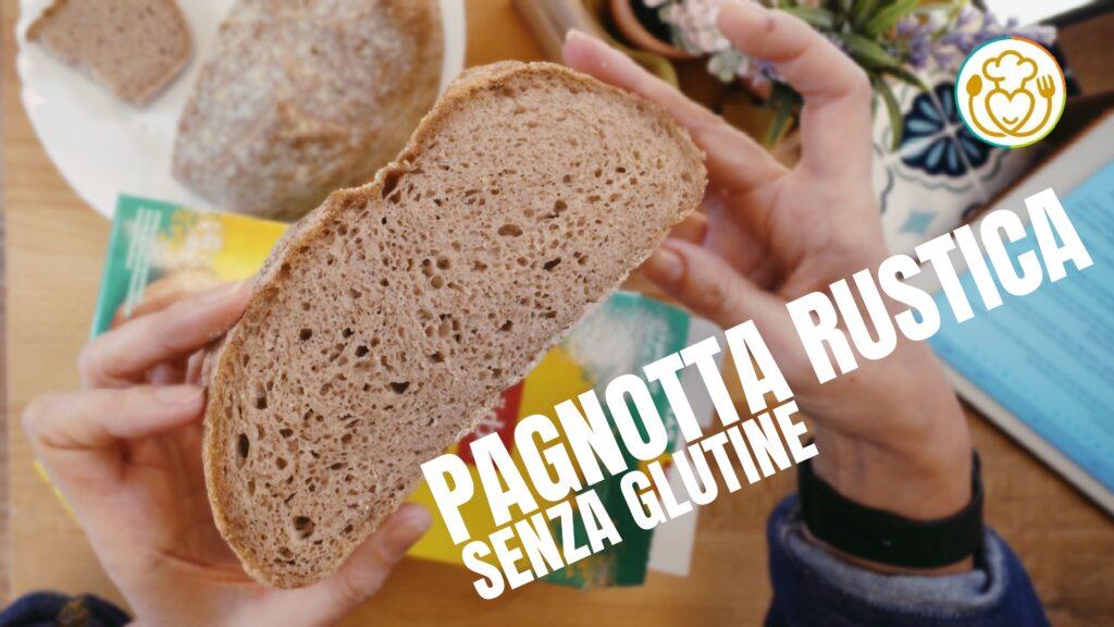 PANE INTEGRALE FACILE con Poco LIEVITO e crosta CROCCANTE Senza Glutine