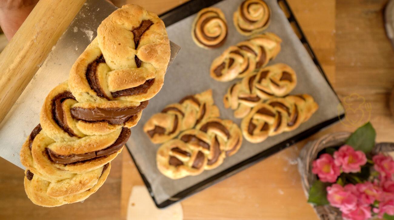 Brioche alla Nutella Senza Glutine, Senza Lievito, Senza Burro e Olio con la Ricotta