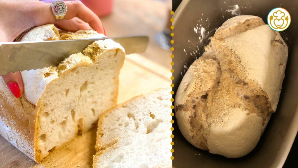 Pane Croccantissimo Senza Glutine con Poco Lievito e Macchina del Pane