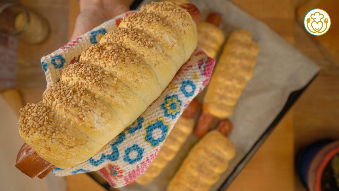 HOT DOG in Crosta di PANE Senza Glutine, Finger Food a Casa!