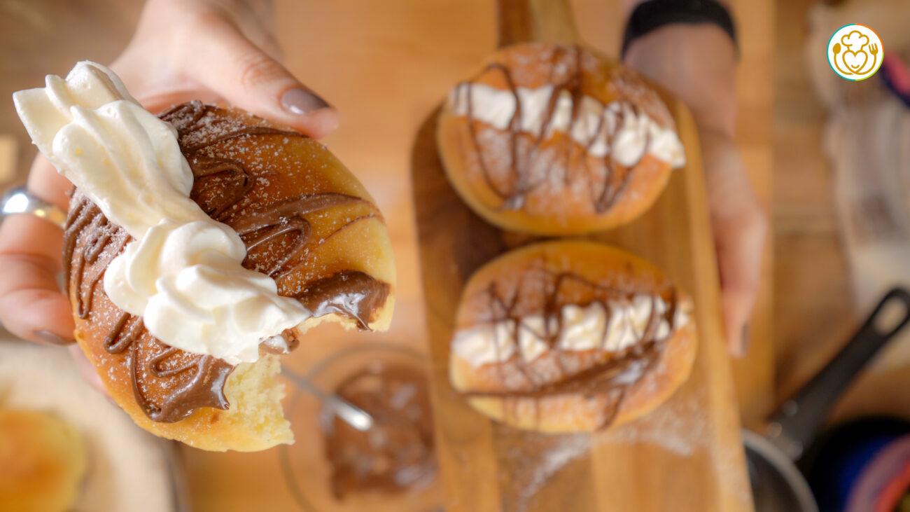 Maritozzi Facili Con la Forchetta Morbidissimi Senza Glutine e Burro, Colazione Come al Bar