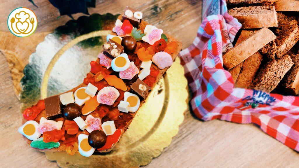 Torta Calza della Befana Senza Glutine e Lattosio con Dolci