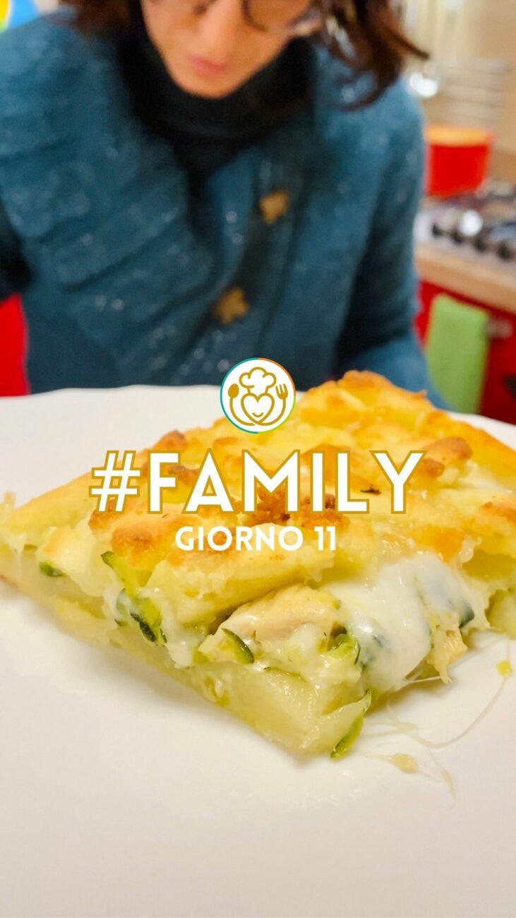 Pizza Sbriciolata Filante di Patate con Pollo e Zucchine – Ricetta del Riciclo