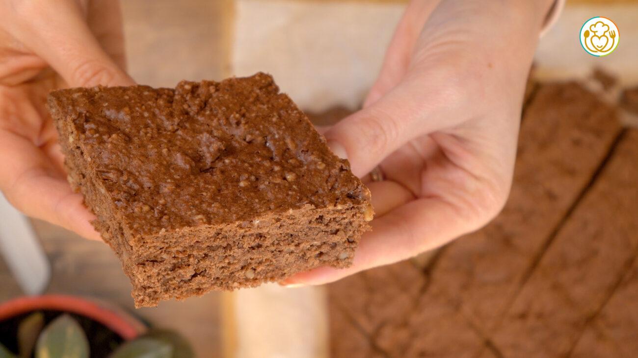 Biscotti Facili con Farina Fatta in Casa, Senza Burro e Latte con Mandorle e Cacao. I Miei Mostaccioli