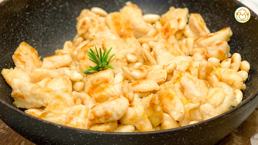 Pollo alle Mandorle e Limone Facilissimo, Croccante e Fresco
