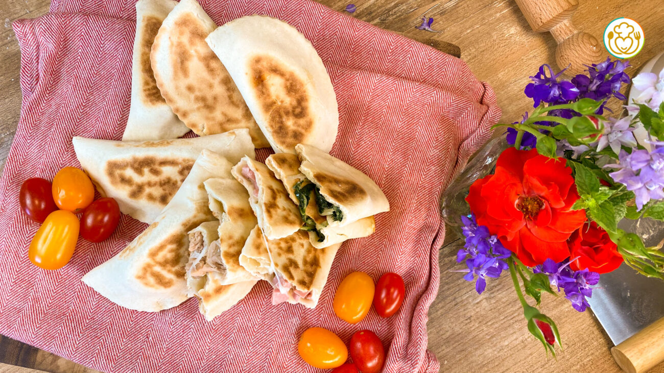 Crescioni Senza Glutine – Calzoni Istantanei Ripieni in Padella