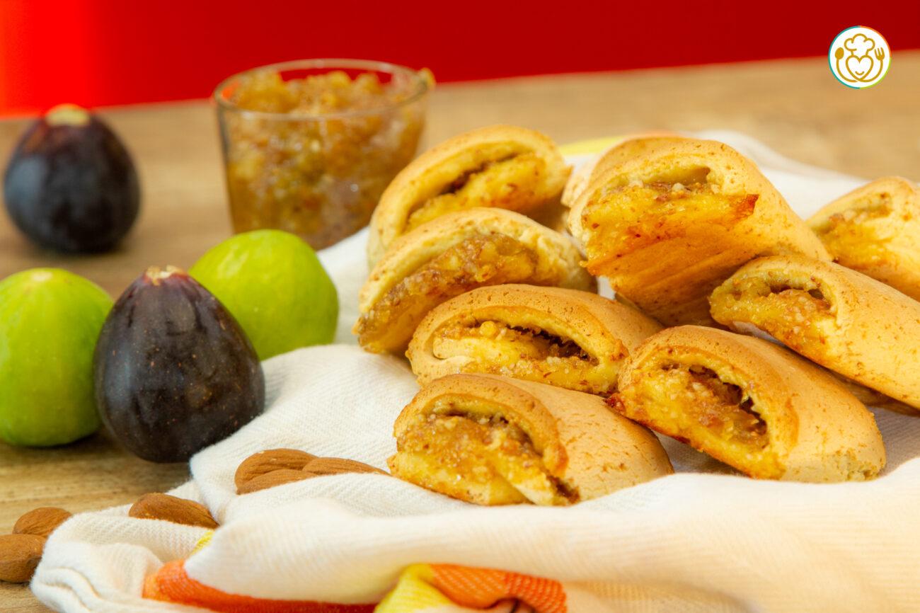 Biscotti Settembrini, Frolla allo Yogurt con Marmellata di Fichi