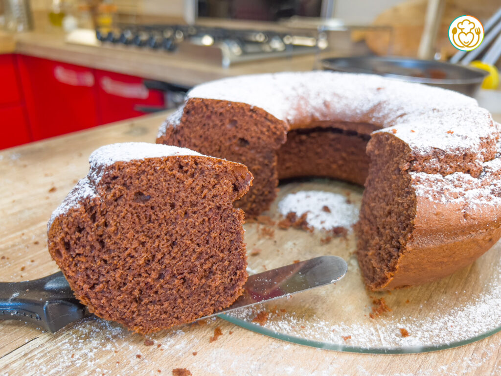 Ciambellone Senza Glutine e Burro al Cioccolato Fondente